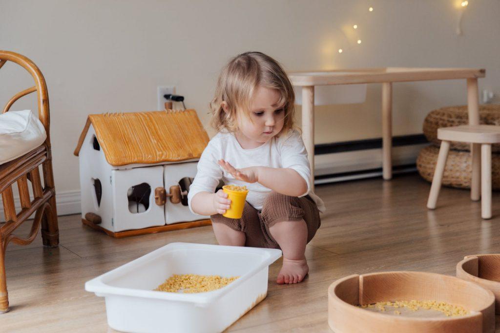 Las herramientas sensoriales permiten aprender a los niños a través de la experiencia