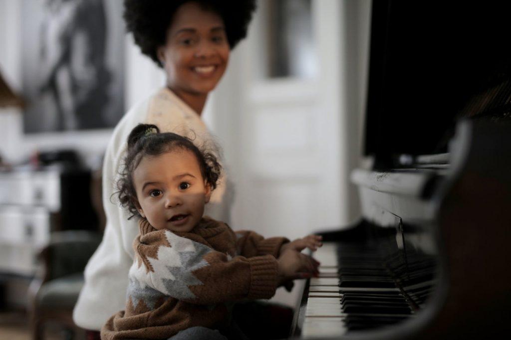 el 'lenguaje infantil' y su relación con la música