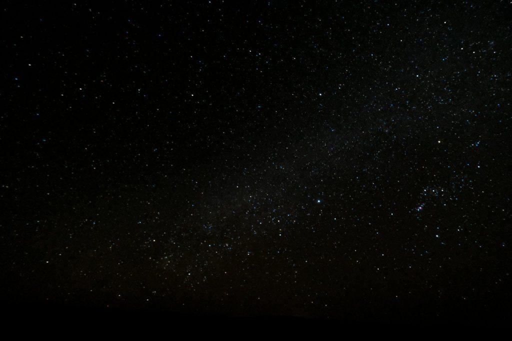 cielo estrellado para niños en una noche de verano