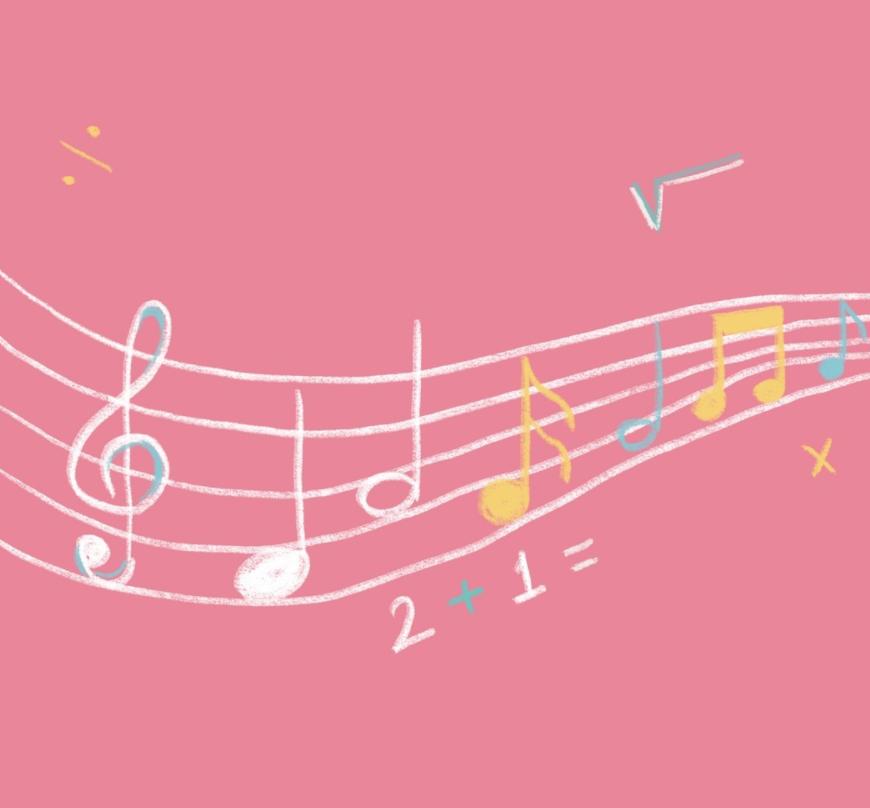 música y matemáticas