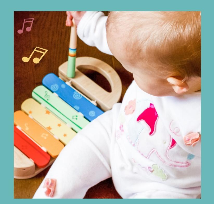 sonidos para niños de instrumentos musicales