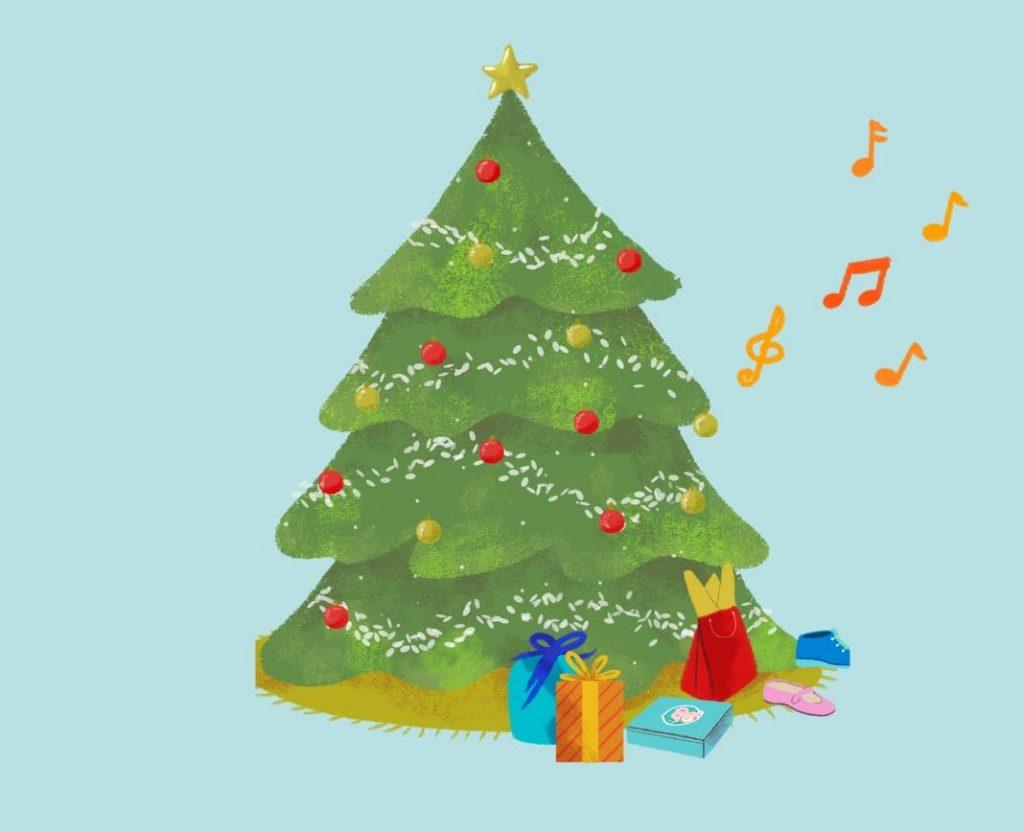 regalo musical para niños y niñas en Navidad